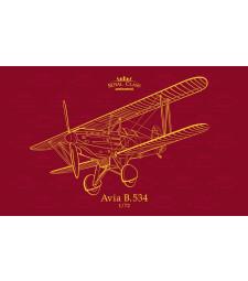 1:72 Чехословашки самолет Авиа Б.534 (Avia B.534 QUATTRO COMBO)