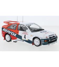Ford Escort RS Cosworth, No.4, Repsol, Rallye WM, Rallye San Remo C.Sainz/L.Moya, 1996