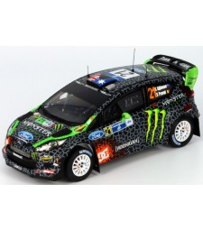 FORD FIESTA RS WRC#21 C.ATKINSON-S.PRÉVOT Rally MEXICO 2012