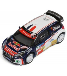 CITROEN DS3 WRC Rally Chablais'13 #1 winner S.Loeb / S.Loeb