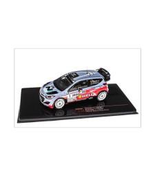 HYUNDAI i20 WRC 1, B. Bouffier - X. Panseri, Winner Rally Antibes 2014