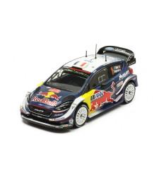 Ford Fiesta WRC, No.1, Red Bull, Rallye WM, Rallye tour de Corse, S.Ogier/J.Ingrassia, 2018