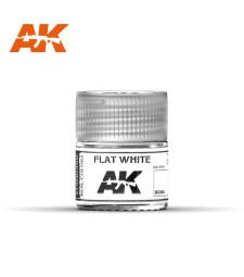 RC004 Flat White - Real colors (10ml) - Акрилна лакова боя