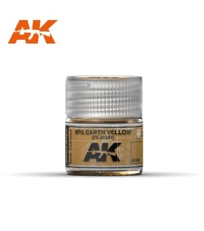 RC030 Nº6 Earth Yellow FS 30257  - Real colors (10ml) - Акрилна лакова боя