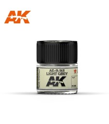 RC308 AE-9 / AII Light Grey  - Real colors (10ml) - Акрилна лакова боя