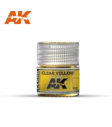 RC507 Clear Yellow  - Real colors (10ml) - Акрилна лакова боя