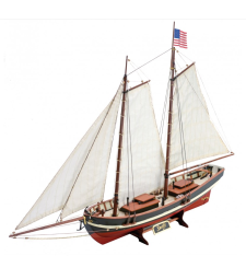 1:50 Ню Суифт (2016) - Модел на кораб от дърво