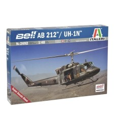 1:48 Военен хеликоптер на САЩ BELL AB212/UH-1N