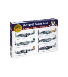 1:48 Американски изтребител бомбардировач П-51 Д/К (P-51 D/K Pacific ACES)