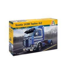 1:24 Камион влекач Скания 143М Топлайн 4х2 (SCANIA 143M TOPLINE 4x2)
