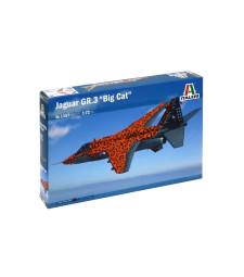 """1:72 Британски изтребител Ягуар Гр.3 """"Голяма котка"""", специални цветове (JAGUAR Gr.3 """"BIG CAT"""" Special Colors)"""
