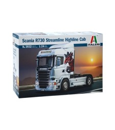 1:24 Камион влекач SCANIA R730 STREAMLINE - HIGHLINE CAB