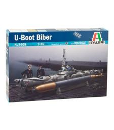 """1:35 Германска малка подводница Ю-Буут """"Бобър"""" (U-BOOT BIBER)"""