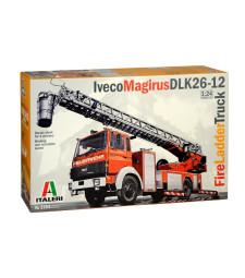 1:24 Пожарен камион IVECO-MAGIRUS DLK 23-12 Fire Ladder Truck