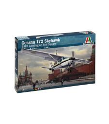 """1:48 Американски едномоторен витлов самолет Чесна 172 """"Скайхоук"""" (CESSNA 172 SKYHAWK)"""