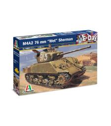 "1:35 Американски танк Шърман М4А2 76 мм ""УЕТ"" (M4A2 76 mm ''WET'' SHERMAN)"