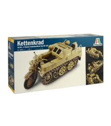 1:9 Германски верижен военен мотоциклет Sonderkraftfahrzeug 2 KETTENKRAD