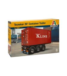 1:24 Ремарке контейнер Текнокар 20 (TECNOKAR 20' CONTAINER TRAILER)