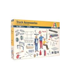 1:24 Аксесоари за европейски и американски камиони - комплект 1 (TRUCK ACCESSORIES I)