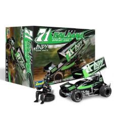 1:24 Автомобол Indy Race Parts Sprint Car Joey Saldana No. 71