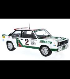 Fiat 131 Abarth, No.2,  Alitalia, Rallye WM, Rally Monte Carlo W.Roehrl/C.Geistdoerfer
