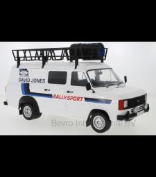 Ford Transit MK II, David Jones with Roof accessories