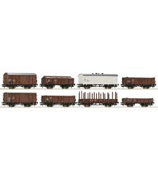 Комплект от 8 товарни вагона, Австрийски железници, епоха IV