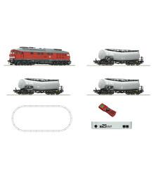 Дигитален стартов комплект дизелов локомотив клас 232 и три цистерни, централа z21, DB AG, епоха VI