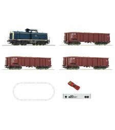Дигитален стартов комплект z21: Дизелов локомотив клас 211 с товарен влак, DB, епоха IV