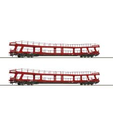 Комплект от 2 товарни вагона гондоли, ÖBB, епоха VI