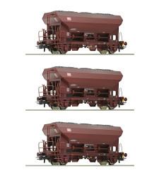 Комплект от 3 товарни вагона, DB AG, епоха V