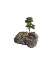 """Комплект за диорама """"Скалиста планина"""", размери 18 x 15 cm, 16 cm висок"""