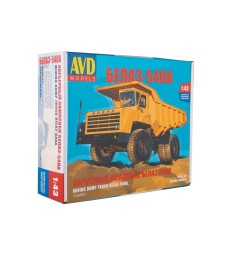 Belaz-540A Dump Truck - Die-cast Model Kit
