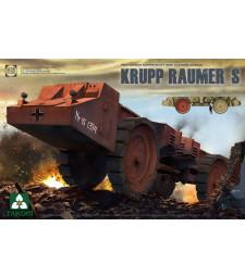 1:35 Германска машина за обезвреждане на мини Krupp Raumer S, Втора световна война (WWII German Super Heavy Mine Clearing Vehicle Krupp Raumer S)