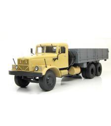 KRAZ-257B1 Flatbed Truck - beige-grey