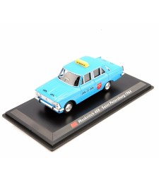 1964 Moskvitch 408 Moscow Taxi, Blue