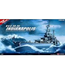 1:350 Американски крайцер КА-35 ЮСС Индианаполис (CA-35 USS INDIANAPOLIS)