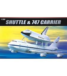 1:288 Космическа совалка и самолет Боинг Джъмбо 747 (SP. SHUTTLE & JUMBO 747)