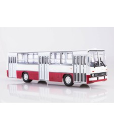 Ikarus-260 city bus /white-red/