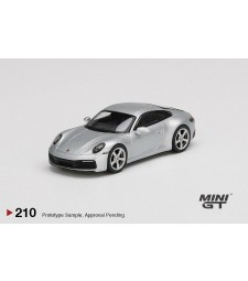 2019 Porsche 911 (992) Carrera S Gt, Silver Metallic