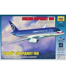1:144 Пътнически самолет Сухой Суперджет 100 (Sukhoi Superjet 100)