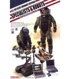 1:35 Американски сапьори с роботи (U.S. Explosive Ordnance Disposal Specialists & Robots)