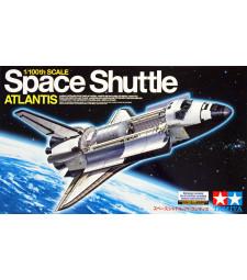 1:100 Космическа совалка Атлантис - 1 фигура и стойка
