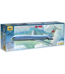 """1:144 Пътнически самолет Илюшин Ил-62 """"Аерофлот"""" (IL-62)"""