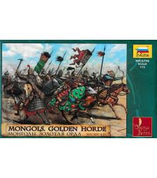 1:72 Монголска златна орда XIII - XIV век - 19 фигури
