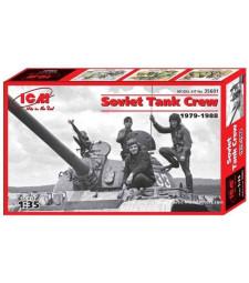 1:35 Съветски танков екипаж (1979-1988) (3 фигури)