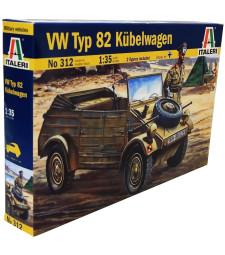 1:35 Германски автомобил Фолксваген КУБЕЛВАГЕН (Volkswagen KUBELWAGEN)