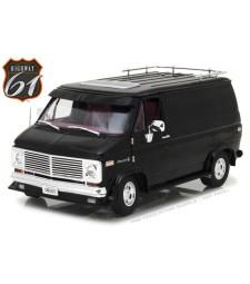 1976 Chevy G-Series Van - Black