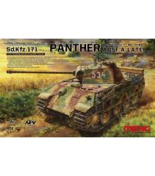 1:35 Германски среден танк Sd.Kfz.171 Panther Ausf.A Late (German Medium Tank Sd.Kfz.171 Panther Ausf.A Late)