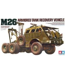 1:35 Американска ремонтно-евакуационна машина M26 (M26 Armored Tank Recovery Vehicle) - 6 фигури